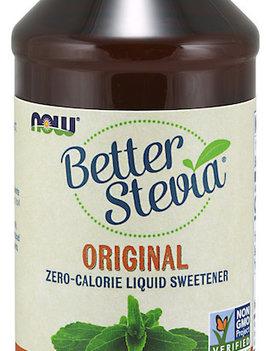 Now Now - BetterStevia - Liquid Sweetener - Glycerite Alcohol-Free - 237mL