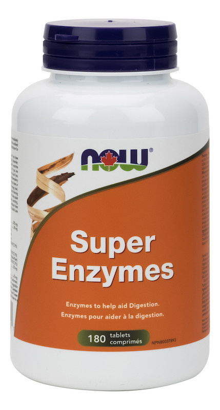 Now Now - Super Enzymes - 180 Caps