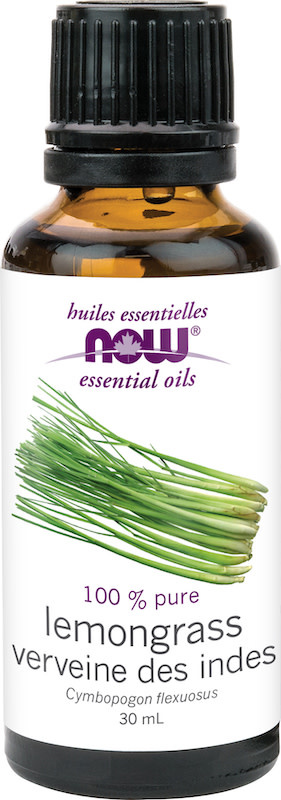 Now Now - Essential Oil - Lemongrass Oil - 30mL