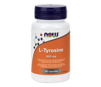 Now - L-Tyrosine 500mg - 60 Caps