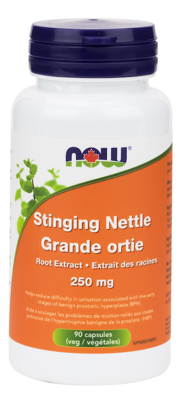 Now Now - Stinging Nettle  250mg - 90 Caps