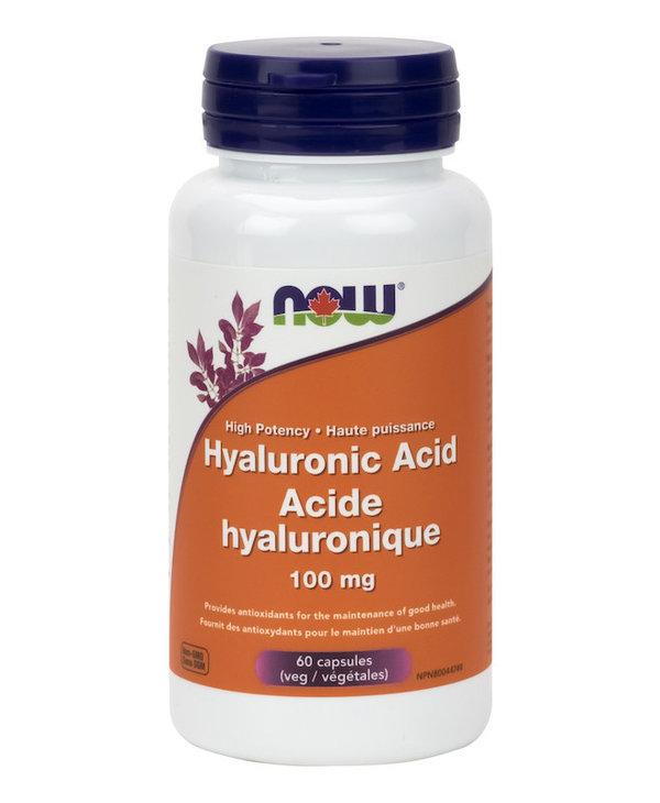 Now - Hyaluronic Acid 100 mg - 60 V-Caps