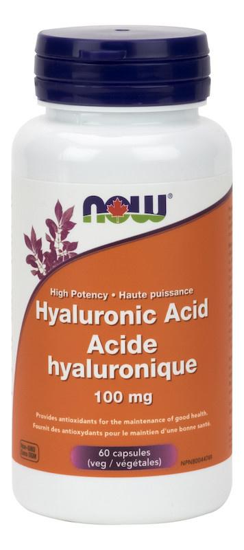 Now Now - Hyaluronic Acid 100 mg - 60 V-Caps