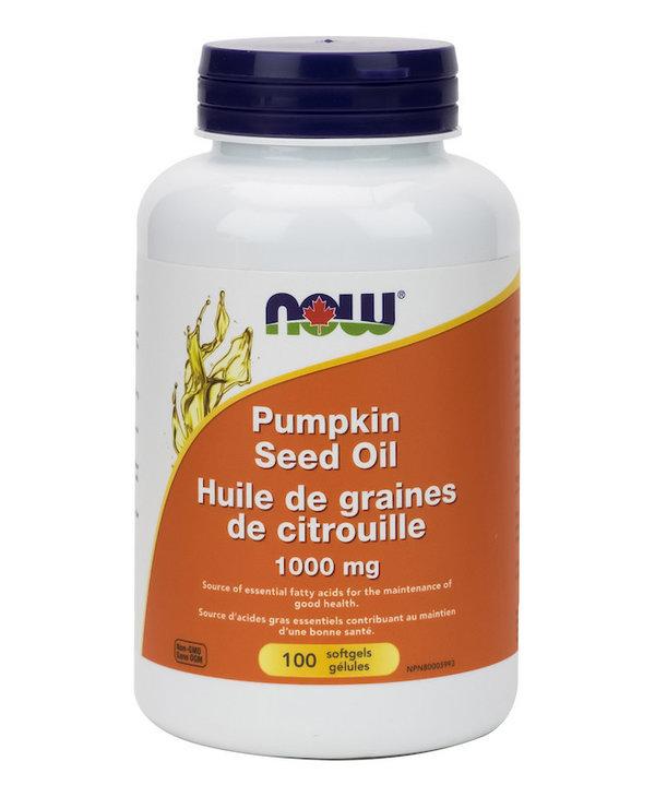 Now - Pumpkin Seed Oil 1000mg - 100 SG