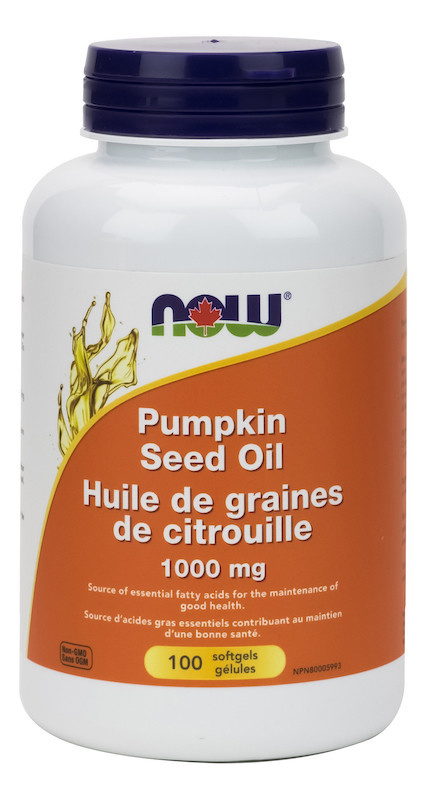 Now Now - Pumpkin Seed Oil 1000mg - 100 SG