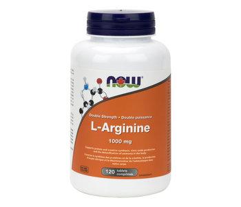 Now - L-Arginine 1000 mg - 120 Tabs