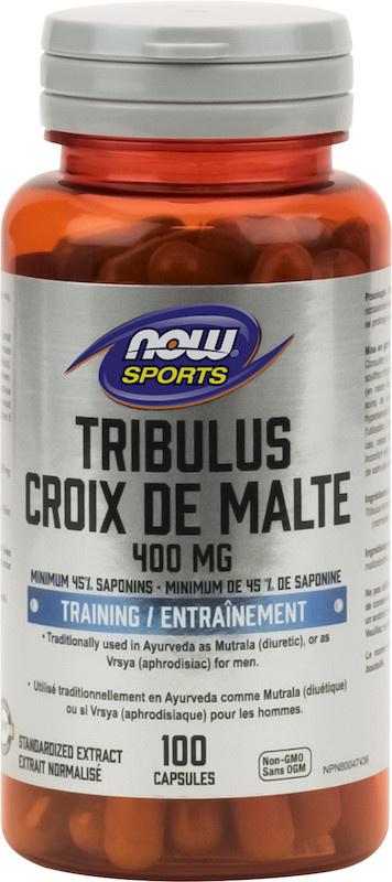 Now Now - Sports Tribulus Extract 400mg - 100 Caps