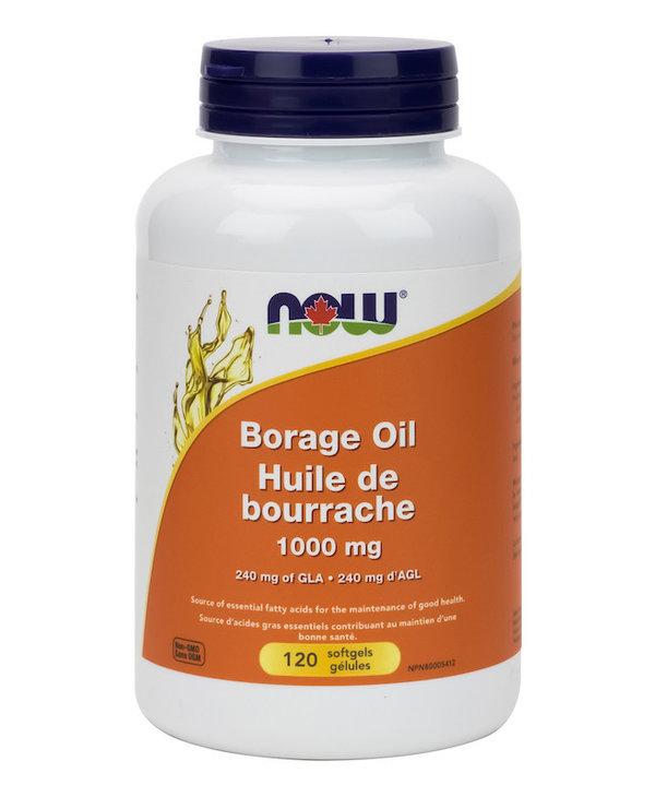 Now - Borage Oil 1000 mg - 120 SG