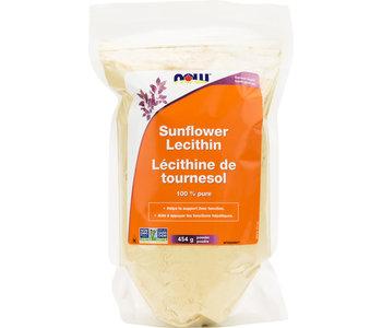 Now - Sunflower Lecithin Pure Powder Non-GMO - 454g