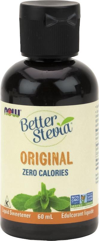 Now Now - BetterStevia - Liquid Sweetener - Original Unflavoured - 60mL