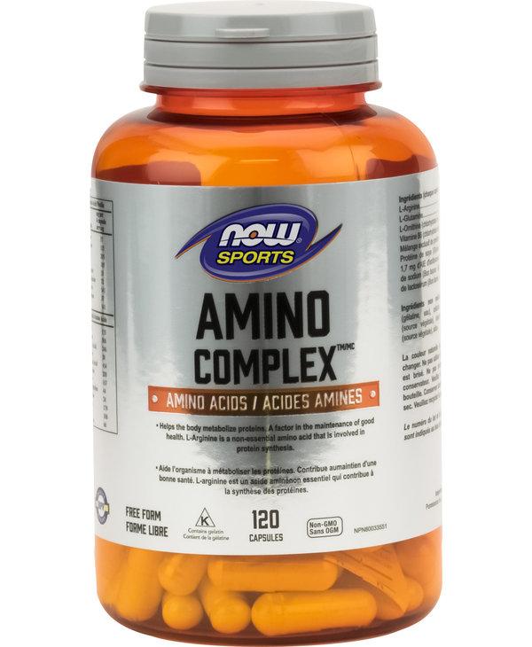 Now - Amino Complex - 120 Caps