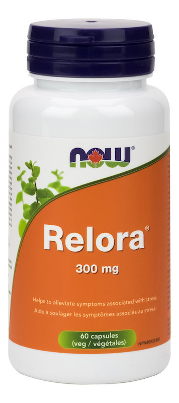 Now Now - Relora 300mg -  60 V-Caps