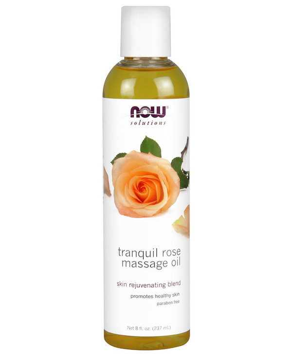 Now - Massage Oil - Tranquil Rose - 237mL