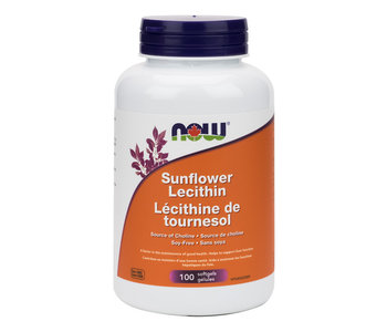 Now - Sunflower Lecithin 1200 mg - 100 SG