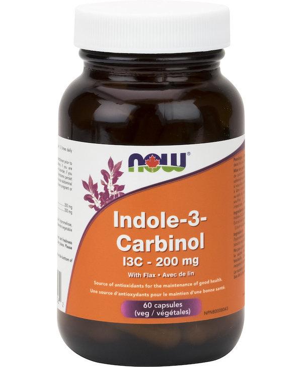 Now - Indole-3-Carbinol 200mg - 60 V-Caps
