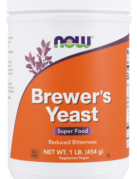 Now Now - Brewer's Yeast - Reduced bitterness - 454g
