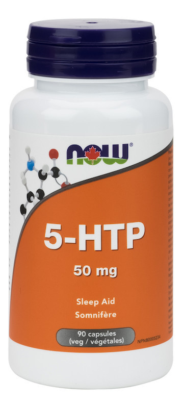 Now Now - 5-HTP 50mg - 90 V-Caps
