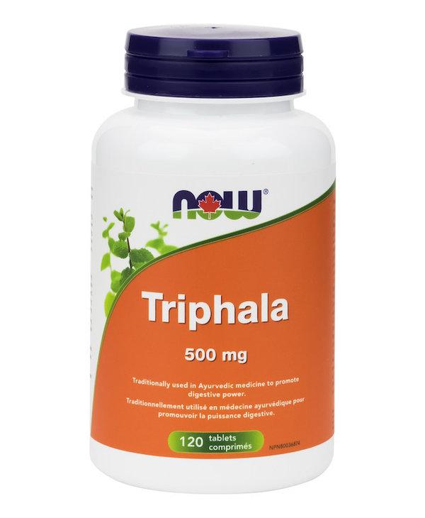 Now - Triphala 500mg - 120 Tabs