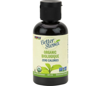 Now - BetterStevia - Liquid Sweetener - Organic - 60mL