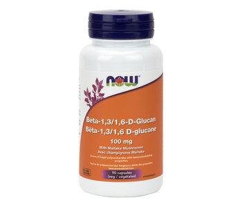 Now - Beta -1,3/1, 6-Glucan 100mg - 90 V-Caps