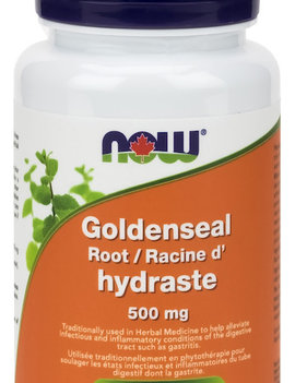 Now Now - Goldenseal Root 500 mg - 50 Caps