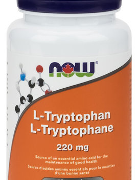 Now Now - L-Tryptophan 220mg - 60 V-Caps