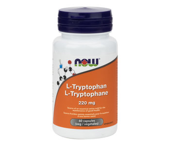 Now - L-Tryptophan 220mg - 60 V-Caps