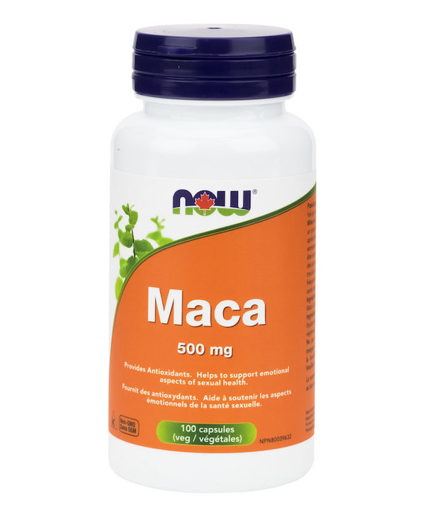 Now - Maca 500mg - 100 V-Caps