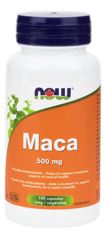 Now Now - Maca 500mg - 100 V-Caps