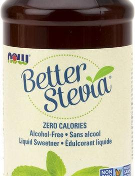 Now Now - BetterStevia - Liquid Sweetener - Organic - 237mL