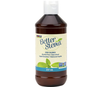 Now - BetterStevia - Liquid Sweetener - Organic - 237mL
