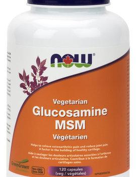 Now Now - Glucosamine & MSM - 120 V-Caps