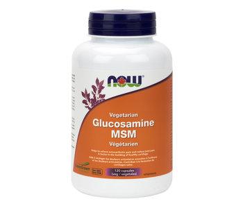 Now - Glucosamine & MSM - 120 V-Caps