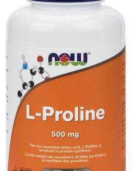 Now Now - L-Proline 500mg - 120 V-Caps