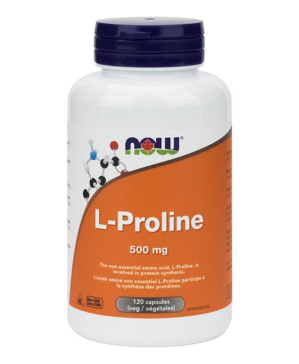 Now - L-Proline 500mg - 120 V-Caps