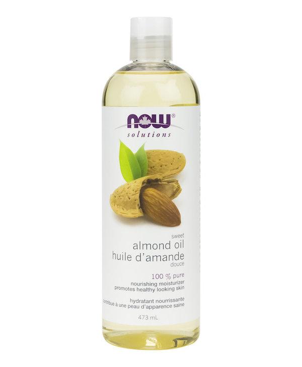 Now - Massage Oil - Lavender Almond - 473ml