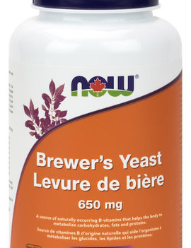 Now Now - Brewer's Yeast 650 mg - 200 Tabs