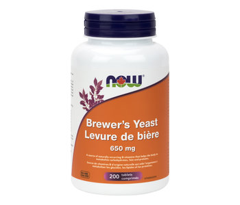 Now - Brewer's Yeast 650 mg - 200 Tabs