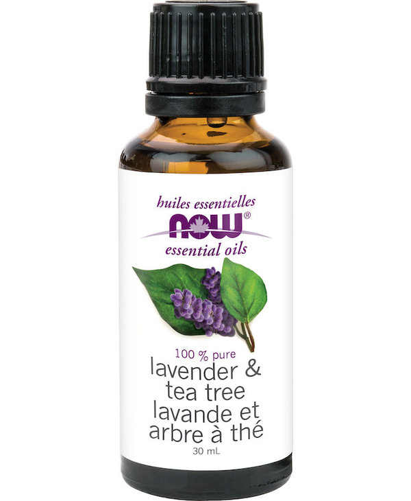 Now - Essential Oil Blend - Lavender & Tea Tree Oil - 30mL