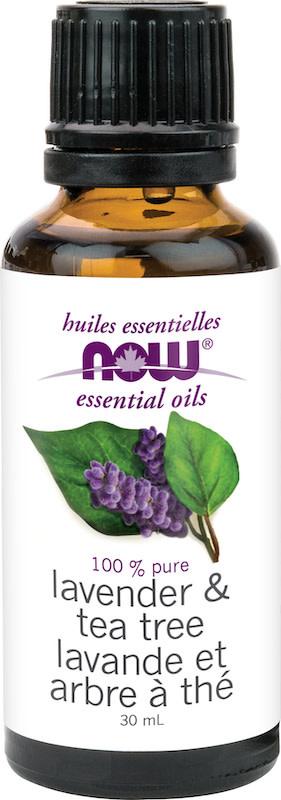 Now Now - Essential Oil Blend - Lavender & Tea Tree Oil - 30mL