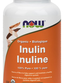Now Now - Inulin Powder - Organic - 227g
