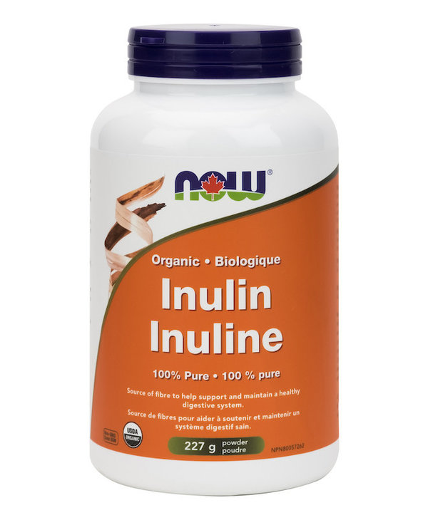 Now - Inulin Powder - Organic - 227g
