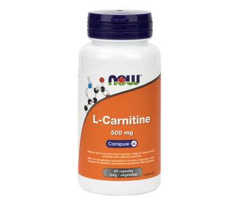 Now - L-Carnitine 500mg - 60 V-Caps
