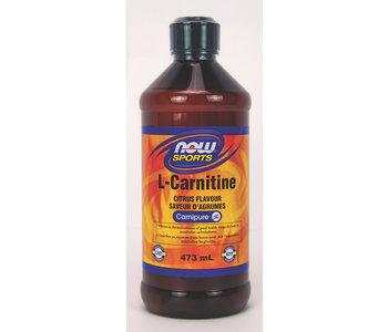 Now - L-Carnitine Liquid - Citrus - 473mL