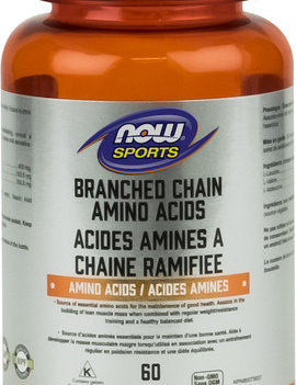 Now Now - Branched Chain Amino Acid - 60 Caps