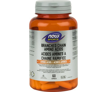 Now - Branched Chain Amino Acid - 60 Caps
