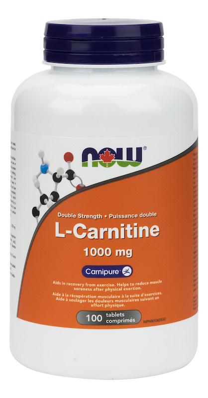 Now Now - L-Carnitine - 180 Caps