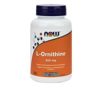 Now - L-Ornithine 500mg - 120 V-Caps