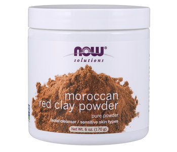 Now - Moroccan Red Clay Powder - 170g