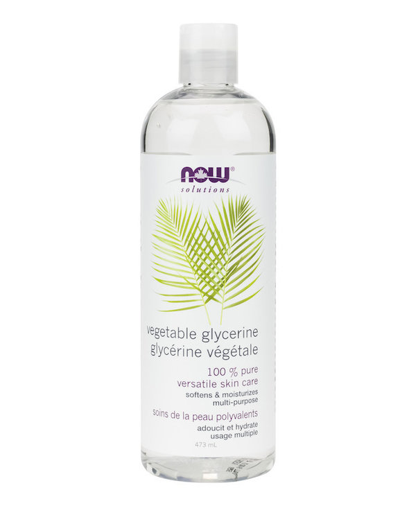 Now - Vegetable Glycerine 100% pure - 473mL